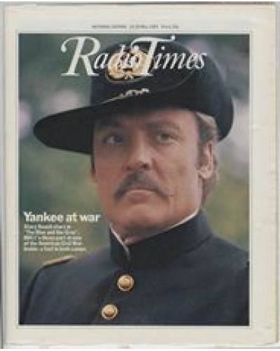 RT 3105 - 14-20 May 1983 (National Edition) THE BLUE AND THE GREY (BBC1) Stacy Keach - in a three-part drama of the American Civil War.