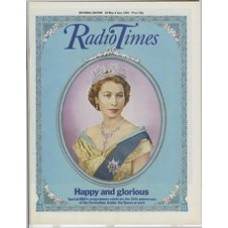 RT 3107 - 28 May-3 June 1983 (National Edition) CORONATION 30th Anniversary. Cover illustration of the Queen. Special BBCtv programmes celebrate...