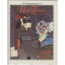 RT 3119 - 20-26 August 1983 (London) THE ARTS IN EDINBURGH Cover (by Graham Palfrey Rogers) of a Viennese woman.