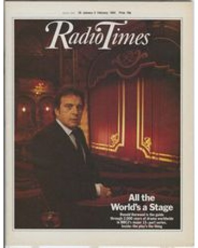 RT 3142 - 28 January-3 February 1984 ALL THE WORLD'S A STAGE Ronald Harwood (BBC2)