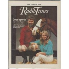 RT 3149 - 17-23 March 1984 SPORTING CHANCE Anneka Rice, Billy Connolly and a horse.