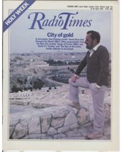 RT 3153 - 14-20 April 1984 HOLY WEEK / SEVEN DAYS THAT CHANGED THE WORLD Tom Fleming from Jerusalem (BBC1).
