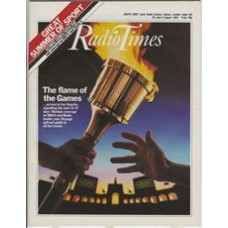 RT 3168 - 28 July-3 August 1984 (South East) OLYMPIC GAMES Los Angeles - Week One. Cover illustration of the Olympic torch changing hands.