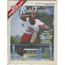 RT 3169 - 4-10 August 1984 (South West) OLYMPIC GAMES Los Angeles - Week Two - with cover photo of Daley Thompson.