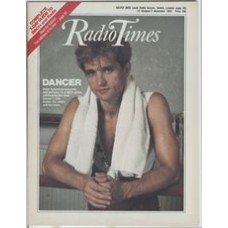 RT 3181 - 27 October-2 November 1984 DANCER (BBC2 new series) with cover photo of Peter Schaufuss.