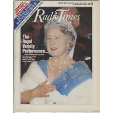 RT 3185 - 24-30 November 1984 (London) THE ROYAL VARIETY PERFORMANCE (BBC1) with cover photo of The Queen Mother.