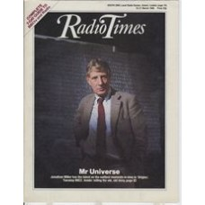 RT 3251 - 15-21 March 1986 (West) ORIGINS (BBC2) with cover photo of Jonathan Miller.