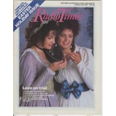 RT 3253 - 29 Mar-4 April 1986 (West) EASTER / COSI FAN TUTTE by Mozart. Cover photo of Jean Rigby & Ashley Putman.