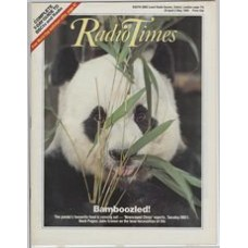 RT 3257 - 26 Apr-2 May 1986 (South) NEWSROUND CHINA - with close-up cover photo of a giant panda. Bamboozled! The panda's favourite food is running out