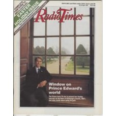 RT 3308 - 18-24 April 1987 EASTER / THE DUKE'S AWARD (BBC1) with cover photo of Prince Edward.