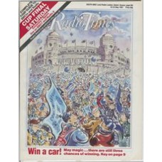 RT 3312 - 16-22 May 1987 (South West) FA CUP FINAL Coventry v Spurs - with cartoon cover illustration (by Paul Cox).
