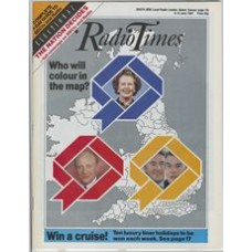 RT 3315 - 6-12 June 1987 ELECTION 87 - with cover photos of Thatcher - Kinnock - Steele and Owen.