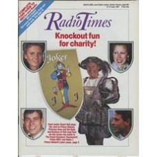 RT 3316 - 13-19 June 1987 (South West) THE GRAND KNOCKOUT TOURNAMENT for charity - with cover photo of Stuart Hall - and insets of Prince Edward, Princess Anne and the Duke and Duchess of York