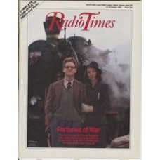 RT 3333 - 10-16 October 1987 FORTUNES OF WAR with cover photo of Kenneth Branagh and Emma Thompson