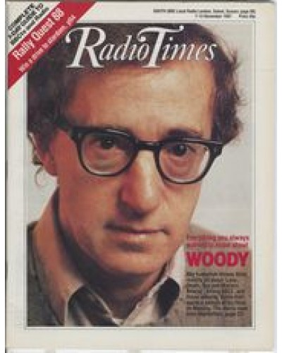 RT 3337 - 7-13 November 1987  LOVE, DEATH, SEX AND MATTERS ARISING Woody Allen / ANNIE HALL