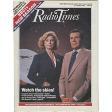RT 3345 - 9-15 January 1988 Screen Two: THE VISION with cover photo of Dirk Bogarde and Lee Remick.