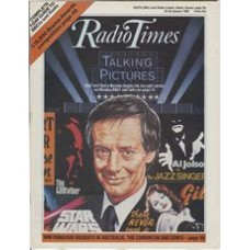 RT 3347 - 23-29 January 1988 TALKIN PICTURES 1. The Coming of Sound - with cover illustration (by Jeff Cummings) of Barry Norman.
