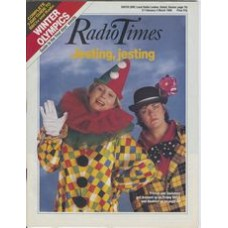 RT 3352 - 27 February-4 March 1988 FRENCH AND SAUNDERS (BBC2) / WINTER OLYMPICS second week. With Jenifer Saunders and Dawn French on the cover.