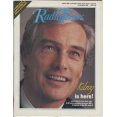 RT 3355 - 19-25 March 1988  KILROY! (BBC1) with cover photo of Robert Kilroy-Silk.