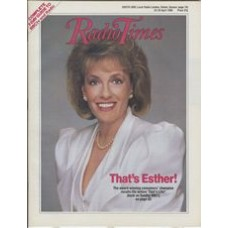RT 3360 - 23-29 April 1988 THAT'S LIFE with cover photo of Esther Ranzen.
