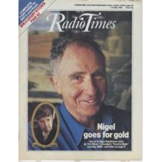 RT 3362 - 7-13 May 1988  THEATRE NIGHT: THE MISER (BBC2) with cover photo of Nigel Hawthorne.