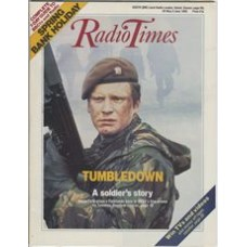 RT 3365 - 28 May-3 June 1988 (Scotland) SPRING BANK HOLIDAY / TUMBLEDOWN (BBC1) with cover photo of Colin Firth.