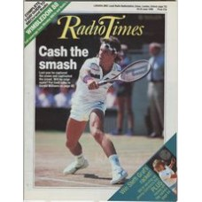 RT 3368 - 18-24 June 1988 WIMBLEDON 88 - with cover photo of Pat Cash. Last year he captured the crown and captivated the crowd. Will he reign again?