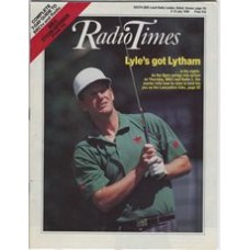 RT 3371 - 9-15 July 1988 GOLF: THE OPEN (BBC2 & Radio 2) with cover photo of Sandy Lyle.