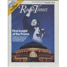RT 3372 - 16-22 July 1988  THE FIRST NIGHT OF THE PROMS with cover photo (by Chris Christodoulou) of Royal Albert Hall