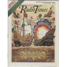 RT 3374 - 30 July -5 August 1988 ARMADA (BBC2) with cover illustration (by Peter Brookes) of sailing ships.