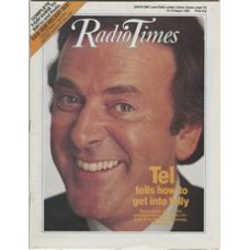 RT 3376 - 13-19 August 1988  WOGAN (BBC1) with cover photo of Terry Wogan.