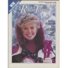 RT 3397 - 14-20 January 1989  GLORIA HUNNIFORD broadcasts her radio show from the Alps.