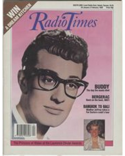 RT 3399 - 28 January-3 February 1989  Screen Two: WORDS OF LOVE Buddy Holly – The day the music died.