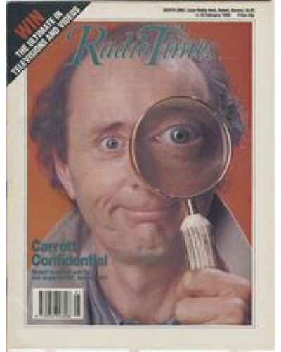 RT 3400 - 4-10 February 1989 CARROTT CONFIDENTIAL with cover photo of Jasper Carrott.