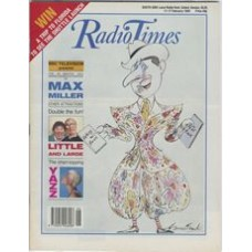 RT 3401 - 11-17 February 1989 40 MINUTES - I LIKE THE GIRLS WHO DO - Max Miller - with cartoon cover illustration by Gerald Scarfe.