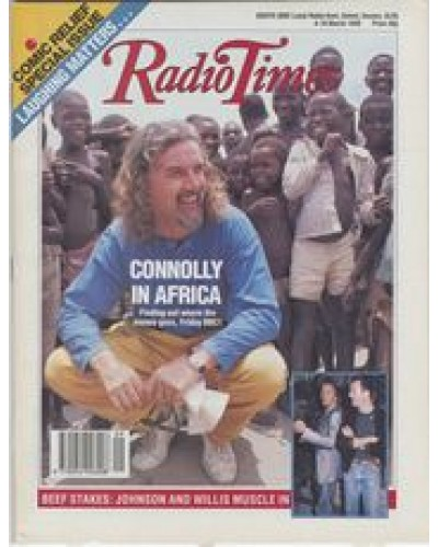 RT 3404 - 4-10 March 1989 COMIC RELIEF 2 - with cover photo of Billy Connolly in Mozambique