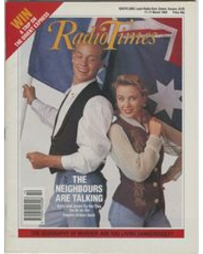RT 3405 - 11-17 March 1989 NEIGHBOURS with cover photo of Kylie and Jason.