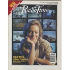 RT 3406 - 18-24 March 1989 Holy Week, UNHOLY WORLD with cover photo of Kate Adie.