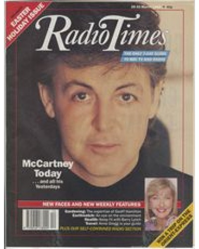 RT 3407 - 25-31 March 1989 EASTER / McCARTNEY ON McCARTNEY Interview series begins (Radio 1)