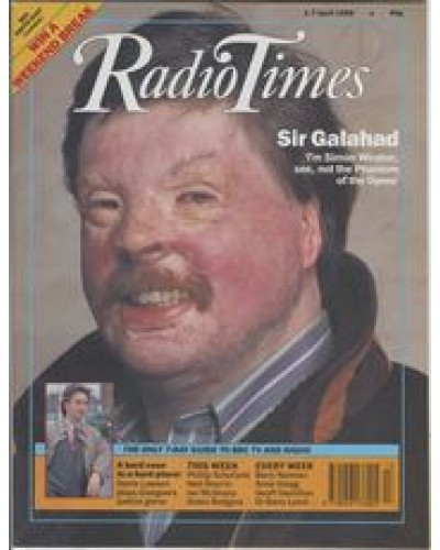RT 3408 - 1-7 April 1989 Q.E.D. - SIMON'S WAR and SIMON'S PEACE Simon Weston, Falklands fighter