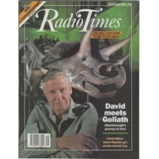 RT 3411 - 22-28 April 1989 LOST WORLDS, VANISHED LIVES David Attenborough's new series on fossils