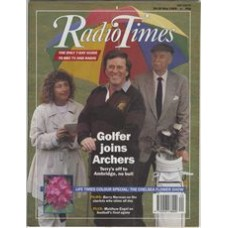RT 3415 - 20-26 May 1989 THE ARCHERS (Radio 4) Terry Wogan with Alison Dowling (Elizabeth) and Arnold Peters (Jack)