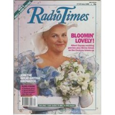 RT 3419 - 17-23 June 1989 EASTENDERS Pam St Clement as Pat getting married.