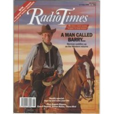 RT 3421 - 1-7 July 1989 PARADISE - with cover photo of Barry Norman on a horse - western-style.