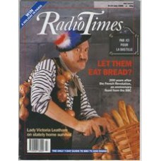 RT 3422 - 8-14 July 1989 RENÉ ARTOIS (Radio 2) - with cover photo of Gorden Kaye as René (from 'ALLO' ALLO) / 200 years after the French Revolution, an anniversary feast from the BBC - PARIS LIVE (BBC2); DREAMS OF FREEDOM (film on BBC2)