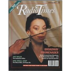 RT 3423 - 15-21 July 1989 PROMS 89 - with cover photo of Maria Ewing brings Broadway to the Proms this month.