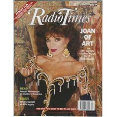 RT 3424 - 22-28 July 1989 THE GREAT PICTURE CHASE with cover photo of Joan Collins.