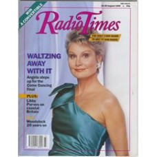 RT 3428 - 19-25 August 1989 COME DANCING final - 40th anniversary 1949-89 - with cover photo of Angela Rippon.