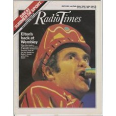 RT 3164 - 30 June-6 July 1984 SUMMER OF 84 CONCERT (Radio 1) with cover photo of Elton John Back at Wembley.