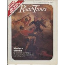 RT 3177 - 29 September-5 October 1984 MASTERS' INDIA Episode1: The Deceivers. (Radio 4) Cover illustration - a painting from the National Army Museum.